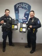 Equipment Donation: Blooming Prairie Police Department Minnesota