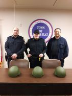 Equipment Donation: Burns Flat Police Department Oklahoma