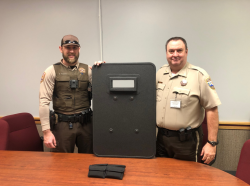 Equipment Donation: Custer County Sheriff's Office Oklahoma