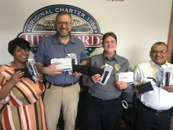 Equipment Donation: Hertford Police Department North Carolina