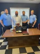 Equipment Donation: Ludowici Police Department Georgia