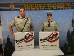 Equipment Donation: Otero County Sheriff's Office New Mexico
