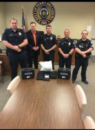 Equipment Donation: Perry Police Department Oklahoma