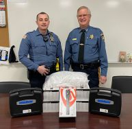Equipment Donation: Pike County Sheriff's Office Pennsylvania