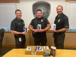 Equipment Donation: Tequesta Police Department Florida