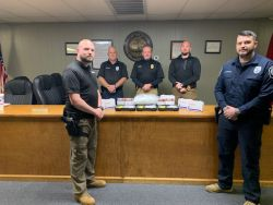Equipment Donation: Whitwell Police Department Tennessee