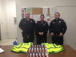Equipment Donation: Hot Springs Village Police Department, Arkansas