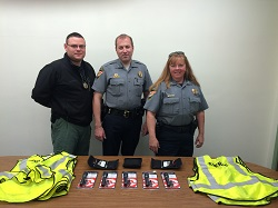 Equipment Donation: Hughes County Sheriff's Department, Oklahoma
