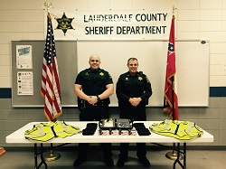 Equipment Donation: Lauderdale County Sheriff's Department, Mississippi