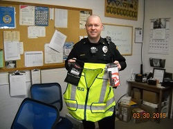 Equipment Donation: Oblong Police Department, Illinois