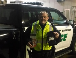 Equipment Donation: Shannon Police Department, Illinois